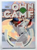 2006 Topps MANNY RAMIREZ Rare OWN THE GAME INSERT CARD FOIL #OG14 Boston Red Sox