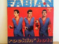 FABIAN            LP      ROCKIN    HOT  !