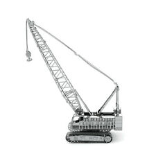 Fascinations Metal Earth 3D Laser Cut Steel Model Kit Contruction Crawler Crane