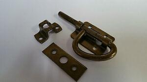 AP Products 013-081 Barrel Latch Bunk Latch, Dark Brass