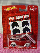 2017 BEATLES DAIRY DELIVERY☆Red/White;Hard Day's Night☆Pop Culture Hot Wheels