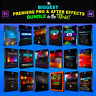 ADOBE PREMIERE PRO & AFTER EFFECTS TRANSITIONS 9999+ VFX ELEMENTS