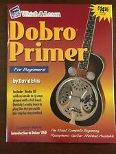 Watch & Learn Dobro Primer Book with Cd New