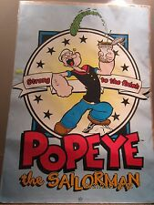 """Popeye The Sailor Man"" King Features Poster"