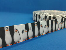 1 metre length of Penguins design Cake/Hair/craft ribbon @ MrsMario's