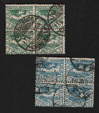 OPC 1920 Upper Silesia Blocks Sc#17 & 20 Used