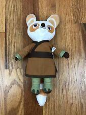 Kung Fu Panda Master Shifu Red Fox Plush Stuffed Animal Doll Dreamworks Small
