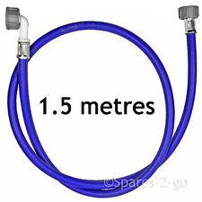 Universal 1.5M Cold Water Washing Machine Fill Hose Inlet Feed Pipe 1.5 Metres