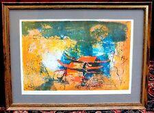 Lebadang Hoi Lithograph Original Art Framed Artist Signed Limited Edition 15/275