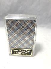 Vintage Tarock Playing Cards Ben Franklin Store, Schuyler, Nebraska. New in Box