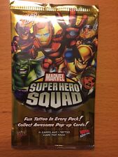 Marvel Super Hero Squad Online-Trading Card Game-Upper Deck 2009 - BRAND NEW