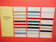 1970 VOLKSWAGEN KARMANN GHIA BEETLE SEDAN CONVERTIBLE TRANSPORTER PAINT CHIPS SW
