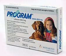Programa comprimidos para perros 409.8mg 21-40+kg X 6, Servicio Premium, envío rápido