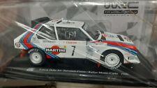 WRC COLLECTION LANCIA DELTA S4 RALLY MONTECARLO 1986 TOIVONEN CRESTO 1/24