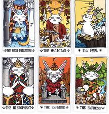 Rabbit Usagi Tarot  cards  deck  Rider-Waite self-published*U.S free Shipping