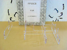 Deselezionare 3 luogo impostazione Display Stand (Cancella) Buona Qualità Pacco di due fp30cb