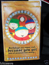 south park 1pc motion holographic birthday cards free shipping
