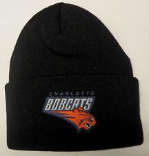 NWT NBA Charlotte Bobcats Men's Cuffed Winter Knit Hat Beanie Cap OSFA NEW!!