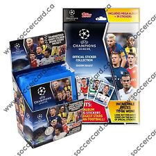 2016-17 TOPPS CHAMPIONS LEAGUE STICKERS 50 PACK BOX 250 STICKERS + ALBUM STARTER