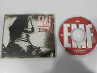 EMF LIES MAXI SINGLE CD 3 TRACKS 1991 HOLLAND EDITION PARLOPHONE