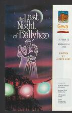 The Last Night of Ballyhoo Geva Theatre Program 1999