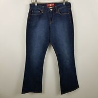Lucky Brand Sofia Boot Cut Womens Dark Wash Blue Jeans Size 8/29 Ankle