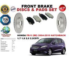 PER HONDA FR-V FRV BE hatchback 04-10 DISCO FRENO ANT Set + Pastiglia freno KIT