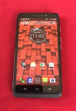 Good Used Motorola Droid MAXX - 16GB - Black (Verizon) Smartphone -Clean ESN-