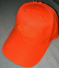 Team Realtee Blaze Orange Camo 6-Panel Hat Cap, Hunting Safety