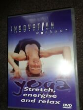 NEW DVD INNOVATION WORKOUT Stretch Energise & Relax YOGA BEGINNER by Trish Smyth