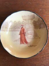 Vintage Royal Doulton Shakespeare Series Plate D3596 Cardinal  Wolsey Circa 1920
