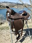 """Vintage Victor Quality Show Saddle, 16"""" Seat, In EXCEPTIONAL Condition!"""