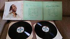 """STEVIE WONDER THE SECRET LIFE OF PLANTS 2 LP VINYL LP 12"""" BRAILLE TRIPLE COVER"""