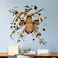 Animals Tiger Shadow Room Home Decor Removable Wall Stickers Decals Decoration