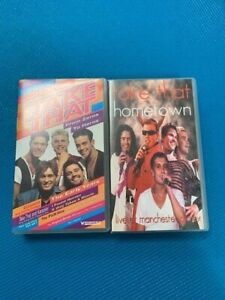 Take That - From Zeroes To Heros The Early Years & Hometown VHS Video Cassettes