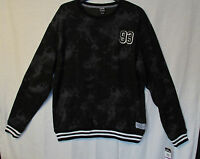 Zoo York Men's XXL Black/gray 93 Numbered Inside Fleece Sweat Shirt New Tags