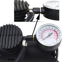 A Portable Mini Electric Air Compressor for car Tire Inflator Pump 12Volt 300PSI