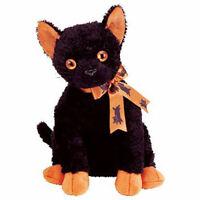 TY Beanie Buddy - FRAIDY the Black Cat (9.5 inch) - MWMTs Stuffed Animal Toy