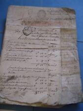 DOSSIER 7 DOCUMENTS CONCERNANT ARRACHAGE D'ARBRE MAISON FORTE 1761 LYON RHONE