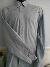 PAUL SMITH  BLUE MEN'S SHIRT SINGLE CUFF 60 % Baumwolle 40% Polyester SIZE 41
