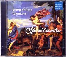 TELEMANN Sonata Spirituosa CONCERTO MELANTE CD Hille Perl Reinhold Friedrich DHM