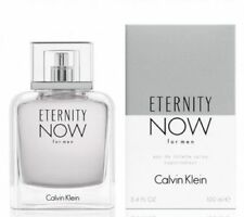 Eternity Now Cologne by Calvin Klein,  3.4 oz EDT Spray for Men NEW