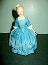 1963 Royal Doulton Bone China A Child From Willamsburg Girl Figurine # Hn 2154