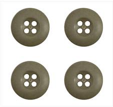 Genuine Uniform Button: Fatigue - Olive Drab 30 Ligne