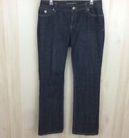 Banana Republic 12776-4A Womens Boot Cut Jeans Stretch Dark Wash Denim Size 10
