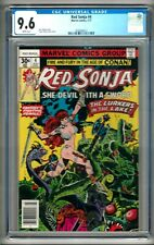 Red Sonja #4 (1977) CGC 9.6 White Pages  Frank Thorne - Roy Thomas