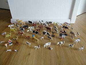 Bauernhoftiere Kühe Bullen Rinder Tierfiguren Tiere BRITAINS SIKU Spur 1 1:32