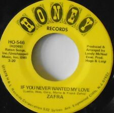 "ZAFRA - If You Never Wanted My Love ~ 7"" Single USA PRESS"