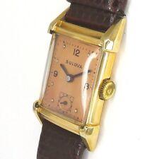 Bulova Double Herren/Damen Armbanduhr - 1930er Jahre Art Deco Design