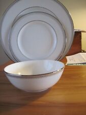 LENOX ~ BELLE HAVEN ~ 3 PIECE PLACE  SETTING ~ MADE IN USA ~